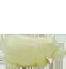 Hroch mini bílý