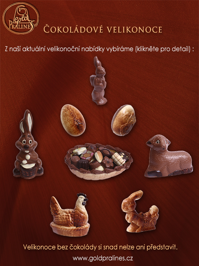 Velikonoce s čokoládou